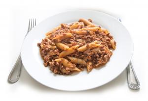 Pasta og kødsauce